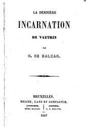 La dernière incarnation de Vautrin
