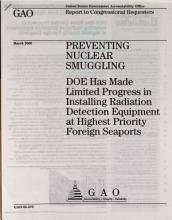 Preventing Nuclear Smuggling PDF