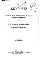Lecciones de elocuencia en general, de elocuencia forense, de elocuencia parlamentaria y de improvisación: Volumen 2