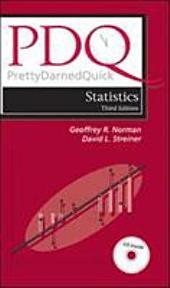 PDQ Statistics: Volume 1