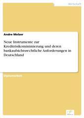 Neue Instrumente zur Kreditrisikominimierung und deren bankaufsichtsrechtliche Anforderungen in Deutschland