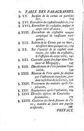 Traité de la cataracte: avec des observations ...
