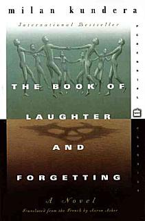 The Book of Laughter and Forgetting Book