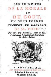 Les principes de la morale et du goût, en deux poèmes: Volume1