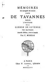 Memoires: Suivi de l'histoire de la Guerre de Guyenne par Balthazar