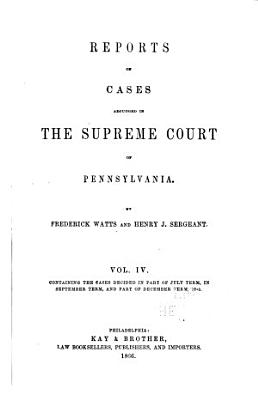 Reports of Cases     1754 1845 PDF