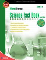 Science Fact Book  Grades 4   8 PDF
