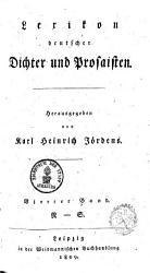 Deutscher Dichter Lexicon