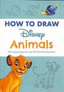 Disney How to Draw Animals PDF