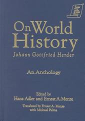 On World History: An Anthology