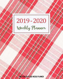 Two Year 2019-2020 Weekly Planner