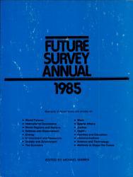 Future Survey Annual 1985 Book PDF