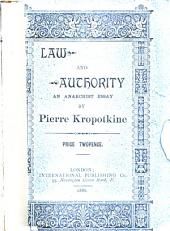 Law and Authority: An Anarchist Essay