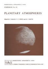 Planetary Atmospheres