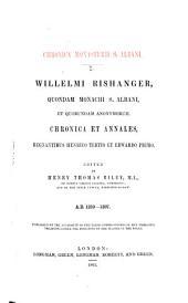 Chronica et annales regnantibus Henrico Tertio et Edwardo Primo: A, Parts 1259-1307