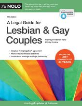 A Legal Guide for Lesbian & Gay Couples: Edition 17