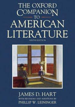 The Oxford Companion to American Literature PDF