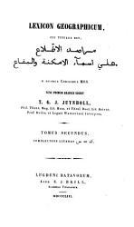 Lexicon geographicum PDF