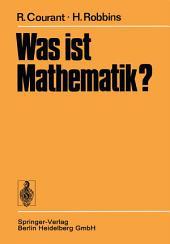 Was ist Mathematik?: Ausgabe 3