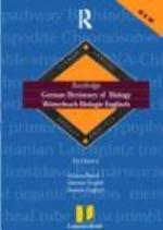 German Dictionary of Biology: German-English