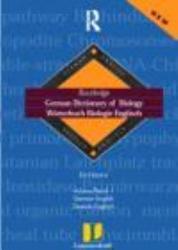 German Dictionary of Biology  German English PDF