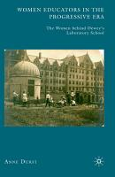 Women Educators in the Progressive Era PDF