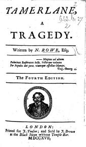 Tamerlane ... The third edition