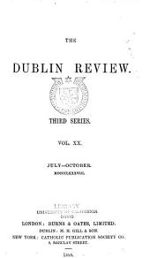 The Dublin Review: Volume 103