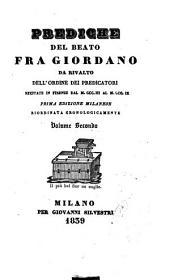Prediche del beato fra Giordano da Rivalto dell'ordine dei predicatori: 2