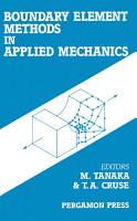Boundary Element Methods in Applied Mechanics PDF