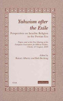 Yahwism After the Exile