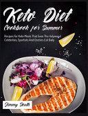 Keto Diet Cookbook for Summer