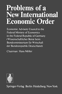 Problems of a New International Economic Order PDF