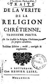 Traité de la Verité de la Religion Chrêtienne: Volume3