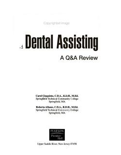 Success  in Dental Assisting PDF