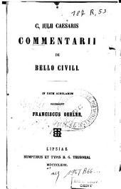 Commentarii de Bello Civili: in usum scholarum