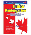 Teaching Resources  Junior Kindergarten