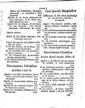 Introductio in philosophiam universam, veterem, et novam exegeticam, et dialecticam: usui, et commodo studiosae Iuventutis antehac edita. Philosophiae partem metaphysicam, seu rectius primam philosophiam complectens. 2