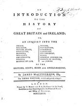 An Introduction to the History of Great Britain and Ireland ... The third edition, etc
