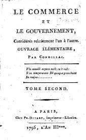 Le commece et le gouvernement