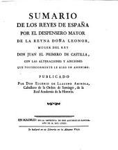 Sumario de los Reyes de España