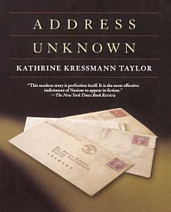 Address Unknown Book