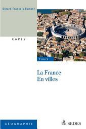 La France en villes: CAPES - Nouvelle Question