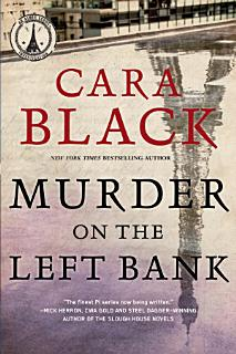 Murder on the Left Bank Book