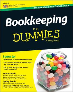 Bookkeeping For Dummies   Australia   NZ