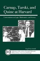 Carnap  Tarski  and Quine at Harvard PDF