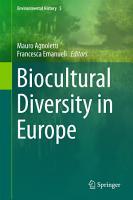 Biocultural Diversity in Europe PDF