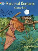 Nocturnal Creatures Coloring Book