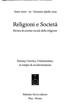 Religioni e societ   PDF