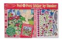 Peel & Press Sticker by Number - Flower Garden Fairy